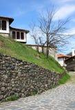 La città di Zlatograd fotografia stock
