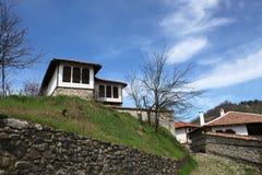 La città di Zlatograd fotografie stock libere da diritti