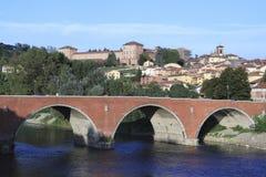 Città di Piemonte Immagini Stock