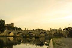 La città eterna di Roma fotografie stock