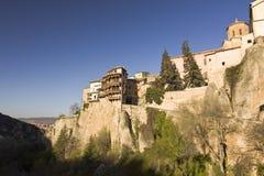 La città medievale di Cuenca, Spagna Immagine Stock Libera da Diritti