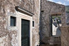 La città murata di Dubrovnic in Croazia Europa Ragusa è soprannominato perla del ` dell'Adriatico Immagini Stock Libere da Diritti