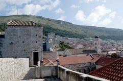 La città murata di Dubrovnic in Croazia Europa Ragusa è soprannominato perla del ` dell'Adriatico Immagine Stock