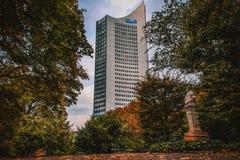 La città più bella in Germania orientale fotografie stock