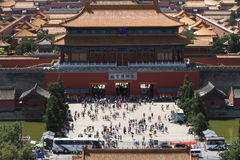 La Città proibita di Pechino Fotografie Stock Libere da Diritti