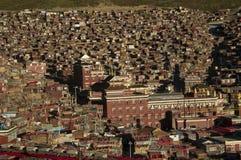 La Città proibita di Serta, monastero principale Fotografia Stock