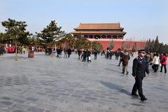 La Città proibita a Pechino Cina Fotografie Stock Libere da Diritti