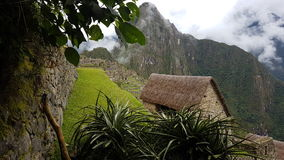 La città rovina il machupichu Perù Fotografia Stock Libera da Diritti