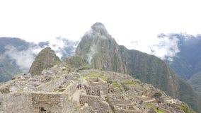 La città rovina il machupichu Perù Fotografie Stock Libere da Diritti
