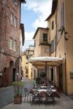 La città storica di Lucca Fotografie Stock Libere da Diritti