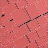 La città urbana inscatola il cubo con le righe nascoste il vettore 174 Fotografia Stock Libera da Diritti