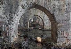 La città variopinta di Alanya, Turchia immagine stock
