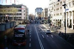 La città visita Colonia Fotografia Stock Libera da Diritti