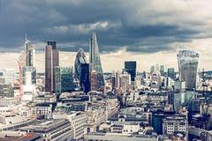 La città di Londra Immagini Stock Libere da Diritti