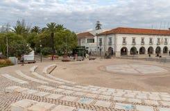 La citt? di Tavira in Algarve Portogallo fotografia stock