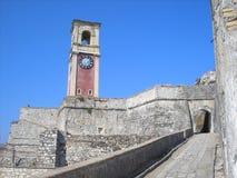 La cittadella di Corfù Immagini Stock