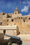 La cittadella di Victoria, Gozo, Malta. Fotografia Stock Libera da Diritti