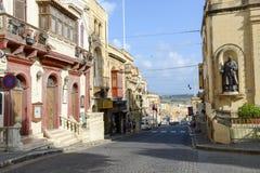 La cittadella di Victoria sull'isola di Gozo, Malta Fotografia Stock Libera da Diritti
