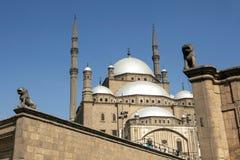 La cittadella magnifica di Il Cairo (cittadella di Salah Al-Din) a Il Cairo, Egitto fotografia stock
