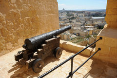 La cittadella, Victoria, Gozo, Malta. Immagine Stock Libera da Diritti