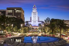 LA City Hall Royalty Free Stock Photo