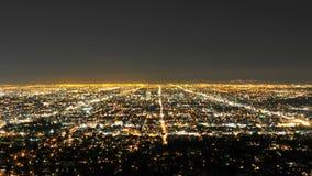 La city overview timelapse stock video