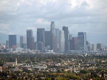 LA City Storm Royalty Free Stock Image