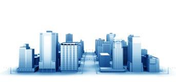 La ciudad stock de ilustración