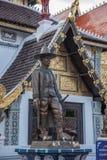 La ciudad antigua de Chiang Mai, de Tailandia Wat Chedi Luang y de x28; Wat Chedi Luang y x29; Foto de archivo libre de regalías