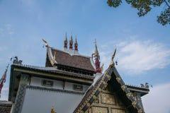 La ciudad antigua de Chiang Mai, de Tailandia Wat Chedi Luang y de x28; Wat Chedi Luang y x29; Fotografía de archivo libre de regalías