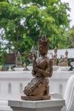 La ciudad antigua de Chiang Mai, de Tailandia Wat Chedi Luang y de x28; Wat Chedi Luang y x29; Foto de archivo