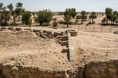 La ciudad antigua de la región Omán 2 de Ubar Shisr Dhofar imágenes de archivo libres de regalías