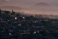 La ciudad antigua de Lijiang Foto de archivo libre de regalías