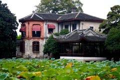 La ciudad antigua de Nanxun, Huzhou, Zhejiang, China Imágenes de archivo libres de regalías