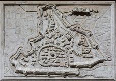 La ciudad antigua de Padua Foto de archivo