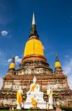 La ciudad antigua de Tailandia Fotos de archivo