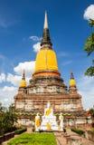 La ciudad antigua de Tailandia Fotografía de archivo libre de regalías