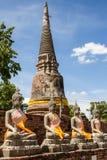 La ciudad antigua de Tailandia Fotografía de archivo