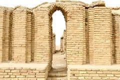 La ciudad antigua de Ur Imagen de archivo libre de regalías