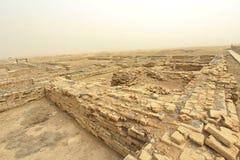 La ciudad antigua de Ur Fotos de archivo libres de regalías