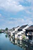 La ciudad antigua de Xitang foto de archivo