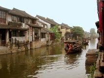 La ciudad antigua de Xitang Fotografía de archivo libre de regalías