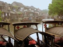 La ciudad antigua de Xitang Fotografía de archivo