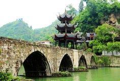 La ciudad antigua de Zhenyuan es una ciudad famosa con una historia durante de 2000 años foto de archivo libre de regalías