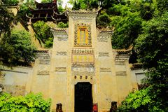 La ciudad antigua de Zhenyuan es una ciudad famosa con una historia durante de 2000 años fotos de archivo