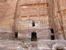La ciudad antigua del Petra fotografía de archivo