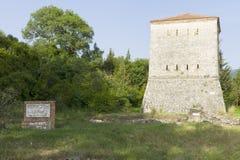 La ciudad arqueológica albanesa de Butrint Fotografía de archivo libre de regalías