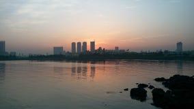 La ciudad Bombay fotografía de archivo