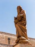 La ciudad de Bethlehem La iglesia de la natividad de Jesus Chris Fotos de archivo libres de regalías