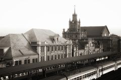 La ciudad de Brest Foto de archivo libre de regalías